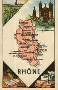 Chromo Ou Image Chocolat Turenne (Année 1950)  Département      69    RHÔNE - Autres