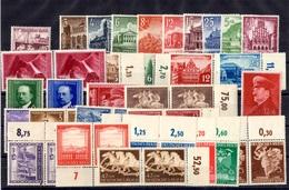 Allemagne/Reich Belle Petite Collection Neufs ** MNH 1937/1943. Bonnes Valeurs. TB. A Saisir!