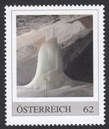 ÖSTERREICH 2013 ** Eishöhle, Ice Cave, Eisriesenwelt Werfen Salzburg, Größte Eishöhle D.Welt - PM Personalized Stemp MNH - Natur