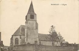 - Somme - Ref-B942 - Hamelet - L Eglise - Carte Bon Etat - - France