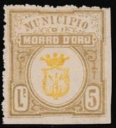 Italy Revenues Local Municipal Marca Da Bollo Comunale MORRO D'ORO