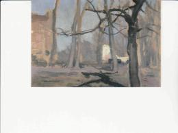 Postcard - Jan Stanislawski 1860-1907 - Public Gardens In Caraco After 1900 New - Postales