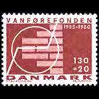 DENMARK 1980 - Scott# B59 Disabled Set Of 1 MNH