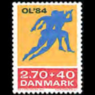 DENMARK 1984 - Scott# B64 Olympics Set Of 1 MNH