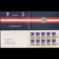 DENMARK 1985 - Scott# B66A Booklet-Lib.49th. MNH