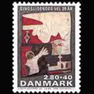 DENMARK 1985 - Scott# B67 Mentally Ill Set Of 1 MNH