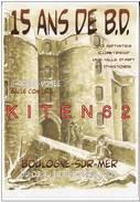 Boulogne-sur-Mer.Du 3 Au 18.12. 2005.15ième Festival B.D., De Boulogne-sur-Mer.Château-Musée. J.L. Dress.1 Carte. - Ex-libris