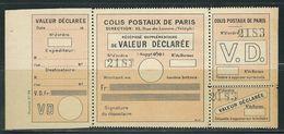FRANCE Colis Postaux Paris Pour Paris N° 33 (*)