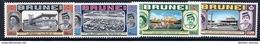 BRUNEI 1972 Royal Visit  MNH / **.  SG 192-95 - Brunei (...-1984)