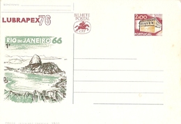 Portugal ** & Postal Stationery,    Rio De Janeiro 1966, LUBRAPEX 1976 (1132)