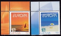 Litauen, 2004, 842/43, Europa: Ferien. MNH ** - Lithuania