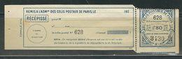 FRANCE Colis Postaux Paris Pour Paris N° 91 **