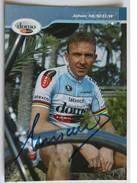 Cyclisme - Johan MUSEEUW - Signé De - Dédicace - Hand Signed - Autographe Authentique - Cycling