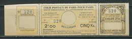 FRANCE Colis Postaux Paris Pour Paris N° 140 **