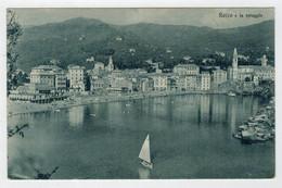 C. P.  PICCOLA    RECCO   E  LA  SPIAGGIA     2 SCAN   (NUOVA) - Italy