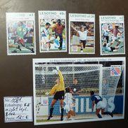 Lesotho  Block 112  1081 N. Kpl.    1994 Fußball USA  ** MNH   #4832 - World Cup