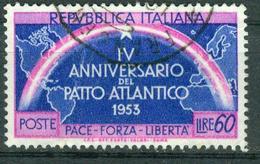 Italien 1953 - MiNr 897 - Used - NORDATLANTIKPAKT NATO