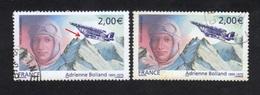 Poste Aérienne N°68, Roues De L'avion Dans La Montagne, P A,Variété Variétés - Varieteiten: 2000-09 Afgestempeld