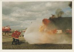 Métiers - Sapeurs-Pompiers - Exercice D'entraînement - Elf-France à Donges 44 - Sapeurs-Pompiers