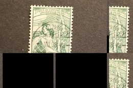 Switzerland 98 UPU Allegory Universal Postal Union 25th Anniversary Used Stamp Is OK Bad Photo 1900 A04s