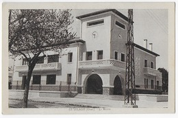 Cpa Bon Etat ,    Algérie ,  Le Télagh , Oran , La Mairie, Carte Rare