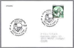 60 Anniv. Fondazione A.V.I.S. Sezione Di Como - Donantes De Sangre - Blood Donors. Como 1996