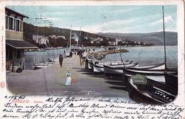 CROATIA - HRVATSKA - OPATIJA - ABBAZIA HAFEN 1900 - Croatie