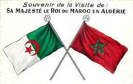 Algérie - Souvenir De La Visite De Sa Majesté Le Roi Du Maroc En Algérie