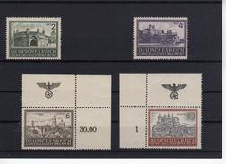 Deutsches Reich  Generalgouvernement 113-116 * Erstfalz 2 X Mit Eckrand  (  N  6920  )
