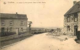 Andenne - Coutisse - La Maison Du Bourgmestre - Dans Le Fond L' Ecole - Andenne