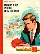 """G.P. Spirale N°88 - Pierre Lamblin - """"Jacques Rogy Enquête Sous Les Eaux"""" - 1965 - Collection Spirale"""