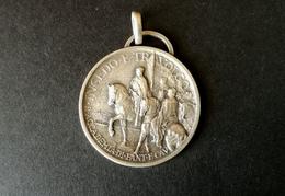 Medaglia Militare In Argento Accademia Fanteria 1930 - ME106 - Italia