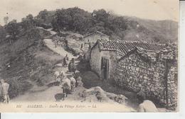 ALGERIE - Entrée Du Village Kabyle  PRIX FIXE - Autres
