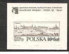 POLOGNE  BLOC N° 62A NOVODRUK  NEUF ** MNH DE1973    PRIX  10 €