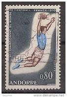 Andorra Francesa U 201 (o) Foto Estandar. 1970