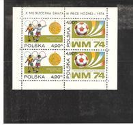 POLOGNE  BLOC N° 65  NEUF ** MNH DE1974   PRIX  8 €