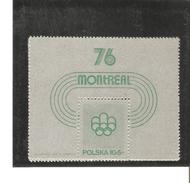 POLOGNE  BLOC N° 67  NEUF ** MNH DE1975   PRIX  2 €