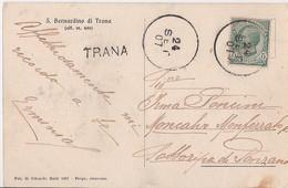 R15-238 - SAN BERNARDINO DI TRANA - TORINO - F.P. - VG. - A.1907 - TIMBRO PARTICOLARE