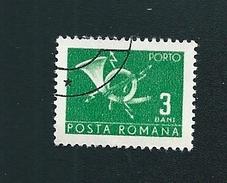 N° 127 Taxe, Cor Postal  Roumanie (1967) Oblitéré  3