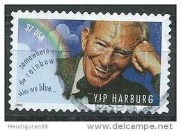 USA 2005 Yip Harburg 37c  USED SC 3905 YV 3644 MI 3939 SG 4422 - Etats-Unis