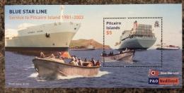 PITCAIRN ISLANDS 2003 BLUE STAR LINE SHEET MNH