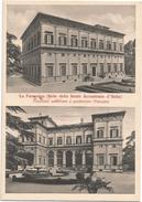 Y3308 Roma - La Farnesina - Facciata Posteriore E Anteriore - B. Peruzzi - Sede Della Reale Accademia D'Italia - Roma (Rome)