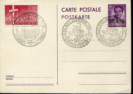 21881 Luxembourg Postcard 1,50 With Postmark Differdange Expo Jeunesse