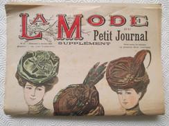 1906 -  LA MODE Parisienne - Supplément Hebdomadaire Du Petit Journal - - Journaux - Quotidiens