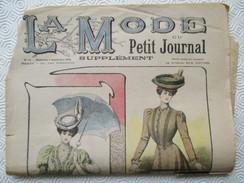 1905-  Journal LA MODE Parisienne - Supplément Hebdomadaire Du Petit Journal - En L'état - Journaux - Quotidiens