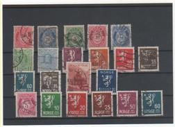 NORVEGE LOT 1894 à 1941