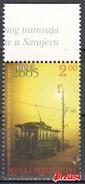 Bosnia Sarajevo -110 Years Of Electric Tram 2005 MNH