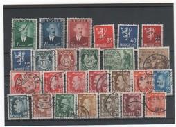 NORVEGE LOT 1946 à 1957