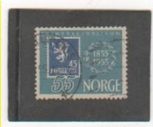 NORVEGE 1955 YT N° 357