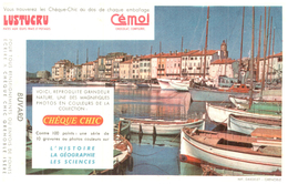 Che C/Buvard  Chèque Chic   (N= 2) - Buvards, Protège-cahiers Illustrés